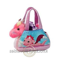Aurora World Fancy Pals Pet Carrier My Fantasy Dragon Plush