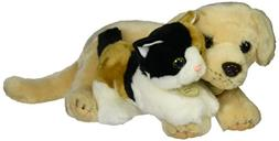 Aurora World Miyoni Unlikely Friends Yellow Lab and Calico K