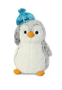 Aurora World Pompom Penguin Plush Toy Animal, Pompom Get Wel