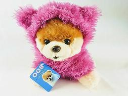 Gund World's Cutest Dog Boo Fuzzy Pink Jacket Stuffed Animal