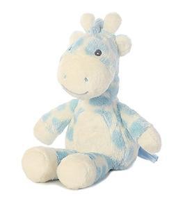 """Aurora World 8.5"""" Soft Plush Giraffe - Gigi Rattle Blue"""