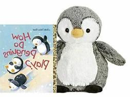 "Aurora World Sweet and Softer Perky Penguin 9.5"" Plush Gift"