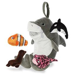 Aurora World Baby Talk Playset Plush Animal, Gray