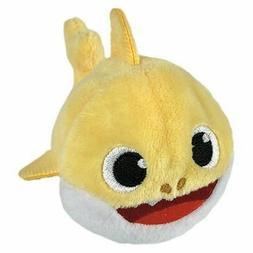 Pinkfong Yellow Baby Shark Mini Beanie Stuffed Animal, No So