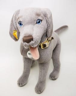 Steiff yellow tag Weimaraner Dog Plush Toy 36cm