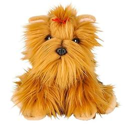 Realistic Yorkshire Terrier Plush Stuffed Floppy Dog Heirloo