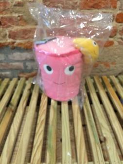 Kidrobot Yummy World Pink Lemonade Cup Plush Stuffed Animal