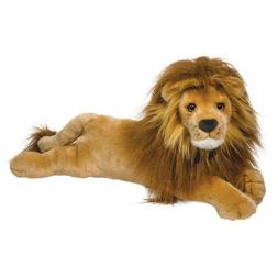 "Zeus 21"" DLux Lion stuffed animal plush by Douglas Cuddle To"