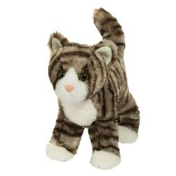 ZIGBY the Plush TABBY CAT Stuffed Animal - by Douglas Cuddle