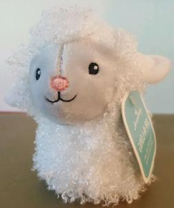 "HALLMARK ZIP-A-LONG SHEEP  Stuffed Plush Animal 4"" long New"