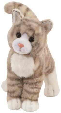 Zipper Grey Tabby Cat 10 by Douglas Cuddle Toys